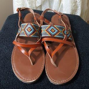 Mossimo tribal thong sandal